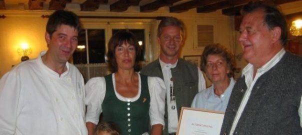 1. Auszeichnung für den Rankler Hof, Rankweil