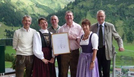 13. Auszeichnung für das Hotel Formarin, Oberlech