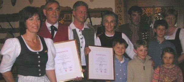 3. Auszeichnung für den Montafoner Hof und den Gasthof Löwen