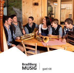 """CD """"Grad rät"""" – BradlBerg MUSIG"""