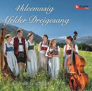 """CD """"A runde Gschicht"""" – 10 Jahre 4kleemusig – Die CD zum Jubiläum"""